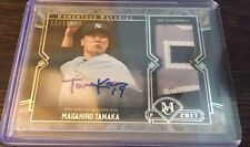2017 TOPPS MUSEUM COLLECTION MASAHIRO TANAKA AUTO PATCH 11/15 YANKEES