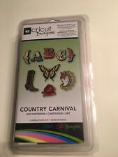 Cricut Imagine Country Carnival Art  Cartridge RARE!! NEW & SEALED IN PACKAGE