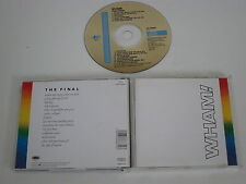 WHAM THE FINAL(EPIC CDEPC 88681) CD ALBUM