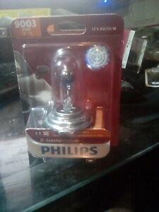 Philips 9003 X-tremeVision Upgrade HeadLight Bulb, 1-Pack 9003XVB1