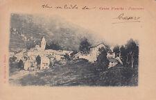 1625) CROCE FIESCHI PANORAMA.