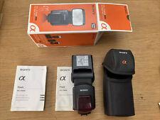 Sony HVL-F58AM Flash Gun and Accessories
