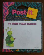Vintage 1989 Cute Turtle Post It Self Stick Notes Nip To Whom It May Confuze