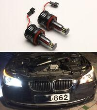 2 x WHITE H8 20W ANGEL EYES light LED HALO Cree For BMW E82 E87 E92 E93 E60 E61