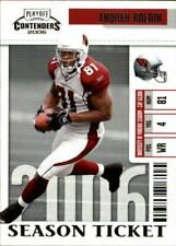 2006 Playoff Contenders Football Card Pick
