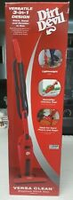 B/N Dirt Devil SD20010 Versa Clean Bagless Corded 3-in-1 Hand and Stick Vac Red