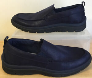 NEW Mens Clarks Cloudsteppers Slip On Shoes Loafers Tunsil Way UK Size 9.5 EU 44