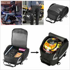Motorcycle Tail Bag Rear Seat Sport Luggage Helmet Travel Rider Bag Waterproof