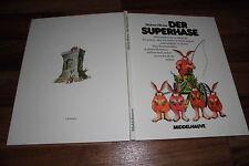 Helme Heine -- der SUPERHASE // Bilderbuch von Middelhauve 1990 im Großformat