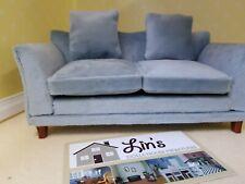 Dolls House Emporium  Miniatures 1/12th Scale Modern Grey Sofa NEW 9317