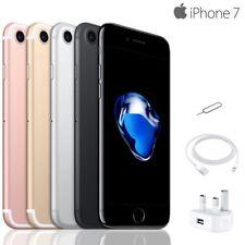 (Grado A Apple iPhone 7 32GB/128GB Negro/Oro / Rosa Oro Desbloqueado de Fábrica