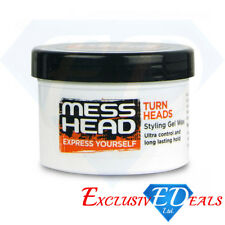 Mess Head Hair Styling Gel Wax - Ultra Control & Long Lasting Hold - 150ml