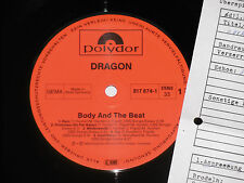 DRAGON -Body And The Beat- LP 1984 Polydor Archiv-Copy mint