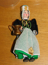 vintage POUPEE DOLL 1970 puppe MAGIS scanno MADE in ITALY roma