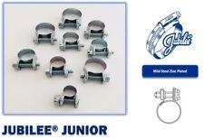 Jubilee Clip Mini Fuel Line Hose Clamp Diesel Petrol Pipe Clamps Zinc Plated