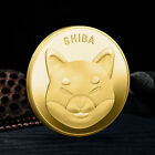 Shibcoin Coin Commemorative Gold Shiba Inu Shib Coins  Limited 2021 Collection
