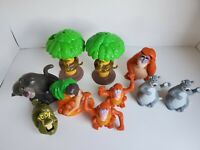 1989 - 1994 McDonalds Happy Meal Jungle Book Figure Toys - Lot of 10