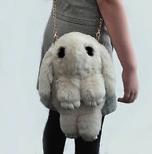 Cute Faux Rabbit Fur Shoulder Bag Handbag Bag Purse Rabbit Backpack Girl Clutch
