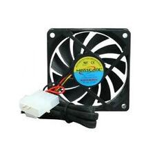 Masscool 70x70x15 mm 12V DC 0.25A 3-Pin/4pin Ball Bearing PC Case Cooling Fan