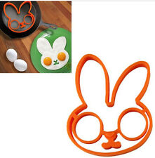 Easter Bunny Rabbit Egg, Pancake or Cookie, Silicone Mold NEW