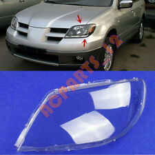 For Mitsubishi Outlander 2003-2006 Left Side Headlight  Clean Cover PC + Glue