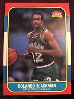 1986 fleer rolando blackman