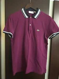 Polo Lacoste US S FR 3