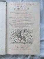 Digestum novuum seu pandectarum iuris civilis. 1584