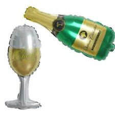 """4 pack Wedding Champagne Bottle and Goblet 14"""" Foil Balloons Set Party Supplies"""
