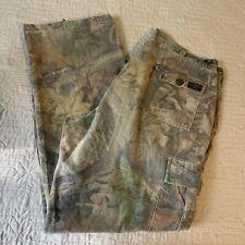 Advantage Timber Camouflage Cargo Pants with Adjustable Waist Men Size Large