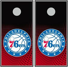 Philadelphia 76ers 0466 cornhole board vinyl wraps stickers posters decals skins