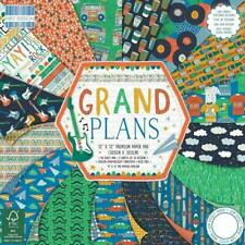 12 x 12 First Edition Grand Plans Premium Paper Pad 48 Sheets FSC 200gsm