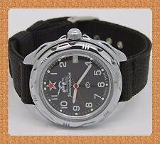 Vostok mechanical (Hand-winding) russian military watch # 211306 new nylon strap