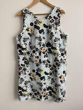 Veronika Maine Floral Dress Size 16 Sleeveless
