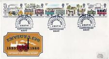 1980 Invicta (Canterbury & Whitstable Railway) 150th Anniversary Cover