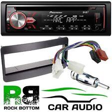 TOYOTA RAV4 00-06 Pioneer DAB+ CD MP3 USB Car Stereo & Black Fascia Fitting Kit