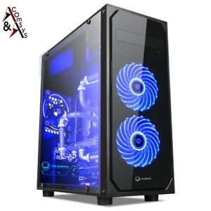 ComSys RX-0620 Glas Gaming Midi Tower PC ATX Gehäuse Gamer Case USB 3.0 #1