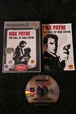 PS2 : MAX PAYNE 2 : THE FALL OF MAX PAYNE - Completo, ITA ! Bullet Time unico !