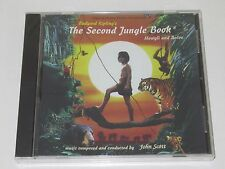THE SECOND JUNGLE LIVRE/SOUNDTRACK/JOHN SCOTT(JSCD 123)CD ALBUM NEUF