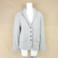 Gc Fontana Ladies Blazer Jacket K1093A 44 Grey Merino Wool Np 199 New