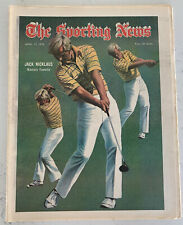 The Sporting News April 13, 1974 Jack Nicklaus Masters Golf (B36)