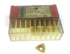 7  Wendeplatten inserts Nr.1069443 4 Schneiden positiv m.Radius 45c  Fette H2728
