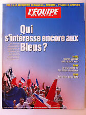 b)L'Equipe Magazine du 31/8/1996; Les Bleus/ Olivier Jacque/ Tiozzo, Mendy/ Surf