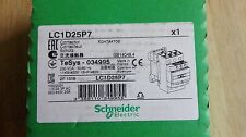 SCHNEIDER Electric LC1D25P7 Contactor 11KW NEW!!!!!!!!