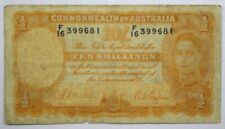 {DO119D} 1939 Commonwealth of Australia 10 Shillings P-25a