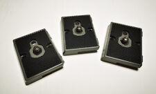 3pcs Quick Release QR Plates for Manfrotto 200PL-14 RC2 System & Bogen 3157N