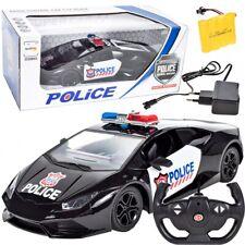 RC Polizeiwagen POLICE POLIZEI LAMBORGHINI 1:14 Auto Ferngesteuertes 28 cm NEU