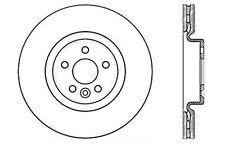 Centric Parts 125.39044 Front Premium Brake Rotor