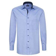 Eterna Herrenhemd Herren Hemd Langarm Comfort Fit Gr XXL/45 Blau 8100/12/E137