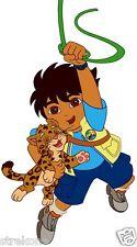 DIEGO Holds Baby Jaguar from Go DIEGO Go Kids TV Window Cling Decal Sticker -NEW